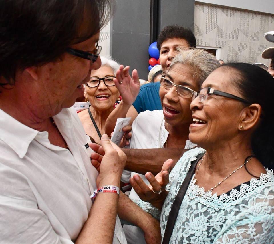 Cesar Lorduy y Arturo Char en encuentros con sectores sociales durante campaña al Congreso 2