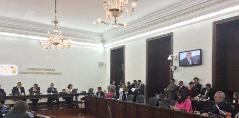 Constitución establece que congresistas puedan participar en asignación presupuestal para gestión de proyectos regionales: Lorduy 1