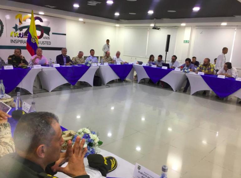 Congresista Lorduy asistió al consejo de seguridad en Barranquilla con el presidente Iván Duque 1