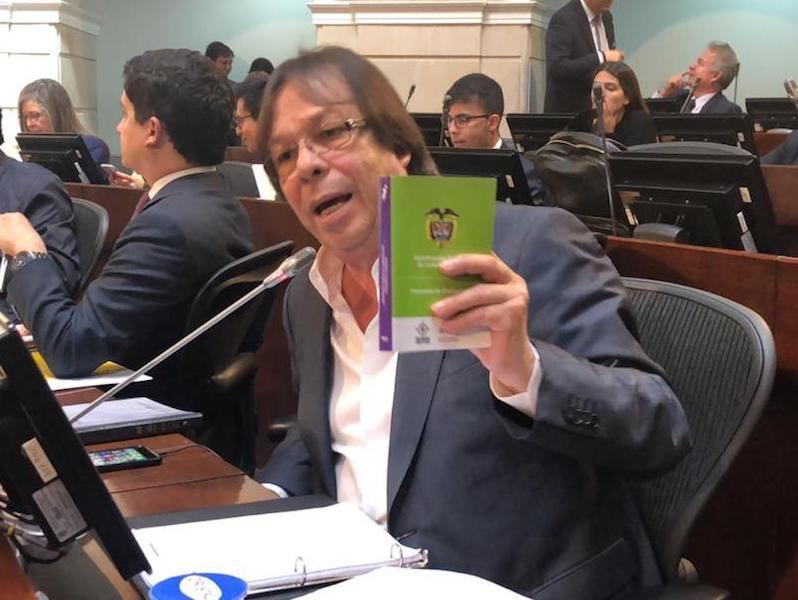 Representante Lorduy en la Comisión Primera de Cámara durante el segundo semestre 2018 3