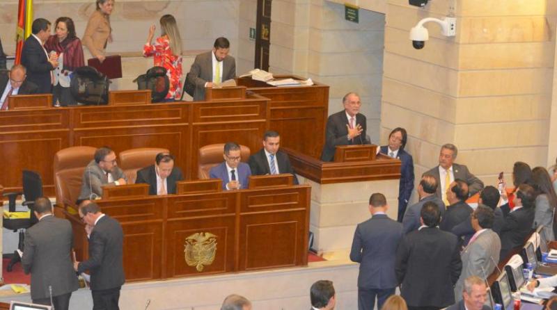 ¡Es un día histórico para el país!: Lorduy tras ser aprobada la Ley de Regiones en Cámara 3