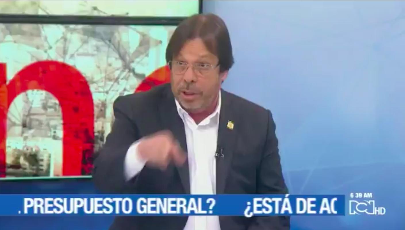 Cesar Lorduy defiende proyecto para que Congreso pueda decidir qué hacer con el 20% del presupuesto 1