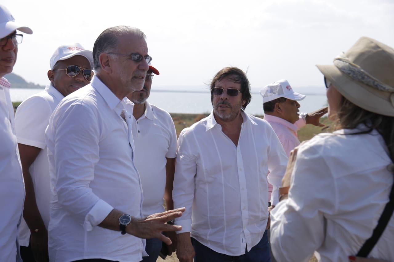 Cesar Lorduy invitado por Eduardo Verano a recorrer nuevas obras en el Atlántico 8