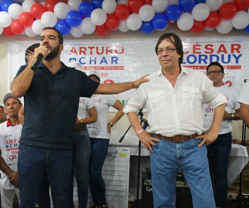 Gracias al municipio de Soledad por creer en los proyectos e ideas que César Lorduy y Arturo Char tienen para el Atlántico 1