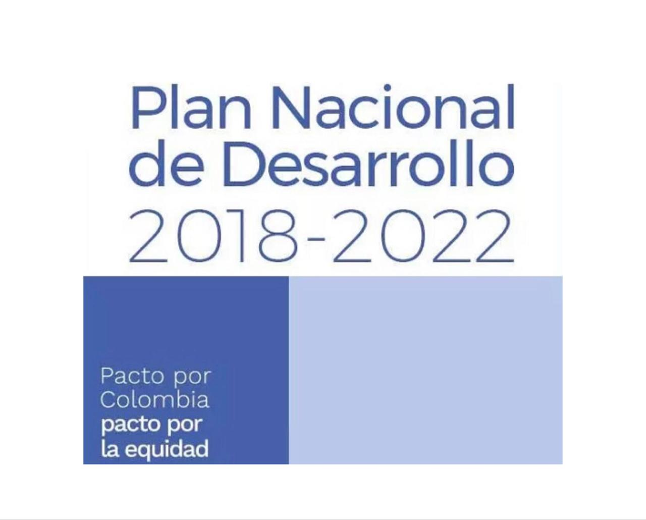 Congresista Lorduy comparte los textos definitivos Plan Nacional de Desarrollo 5