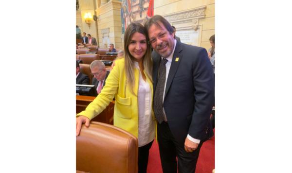 Lorduy participa en el Congreso de lucha para prohibir el uso del asbesto en Colombia 1