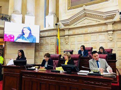 Informe de Gestión de la Comisión Primera Constitucional de la Cámara de Representantes, de la que hace parte el Representante Cesar Lorduy 2