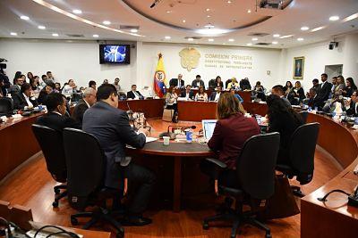 Informe de Gestión de la Comisión Primera Constitucional de la Cámara de Representantes, de la que hace parte el Representante Cesar Lorduy 1