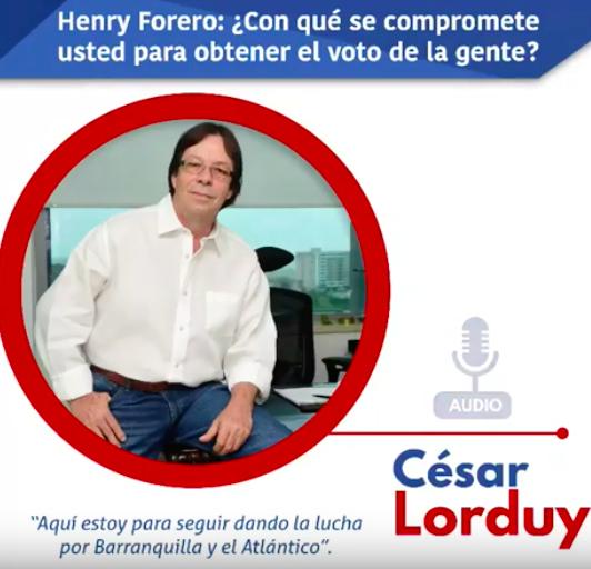 César Lorduy seguirá trabajando por los intereses de Barranquilla y el Atlántico desde la Cámara 12
