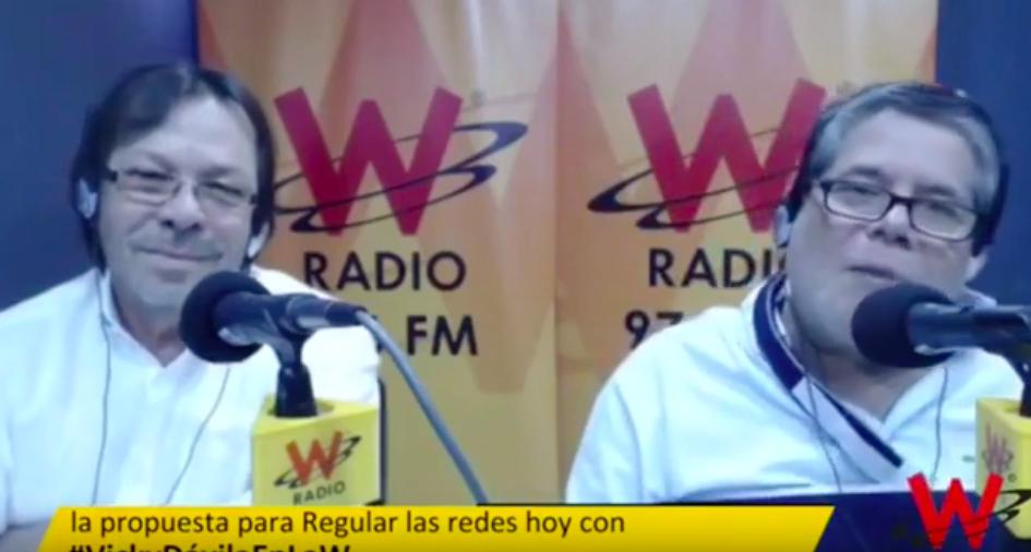 Congresistas Cesar Lorduy y Antonio Zabaraín debatieron sobre regulación de redes sociales 1