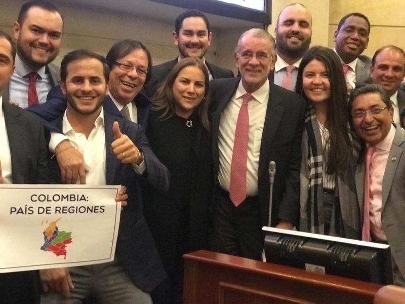 Representante Cesar Lorduy durante plenaria de la Cámara de Representantes segundo semestre 2018 2