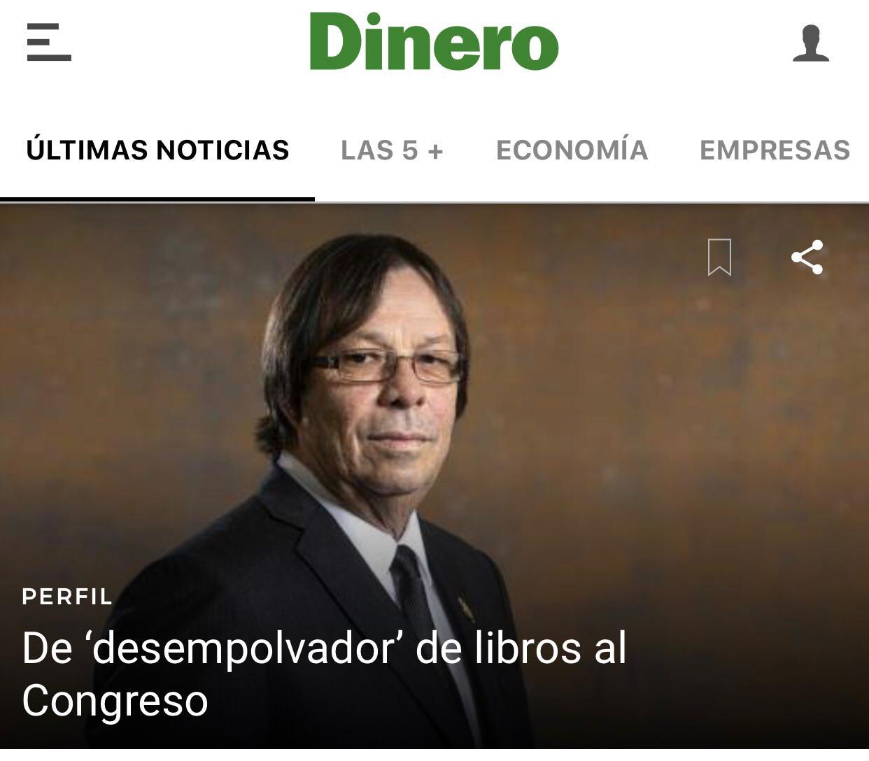 Cesar Lorduy pasó de 'desempolvador' de libros al Congreso de la República 4