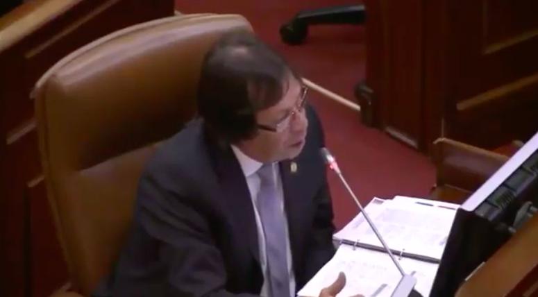 Cesar Lorduy dice no al consumo de sustancias psicoativas en plenaria de Cámara 3