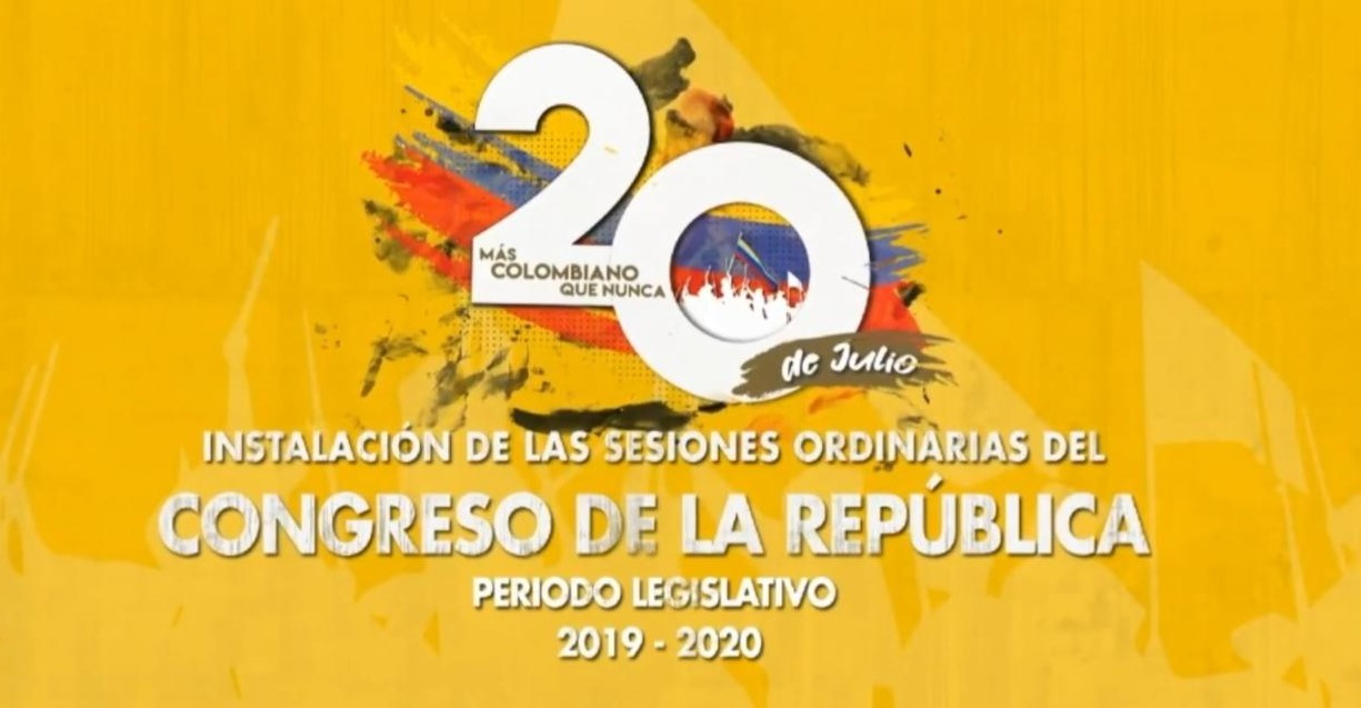 Cesar Lorduy es parte de la comisión encargada de trasladar al presidente Iván Duque al Congreso 2