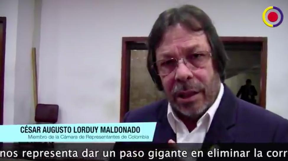 """""""Transformar el modelo fiscal significa un paso gigante para eliminar la corrupción en el país"""": Cesar Lorduy 3"""
