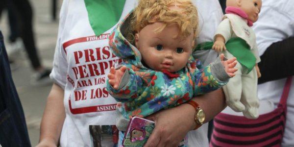 ¡Sí a la prisión perpetua para homicidas, violadores y abusadores sexuales de niñas, niños y adolescentes!: llamado de Cesar Lorduy 2