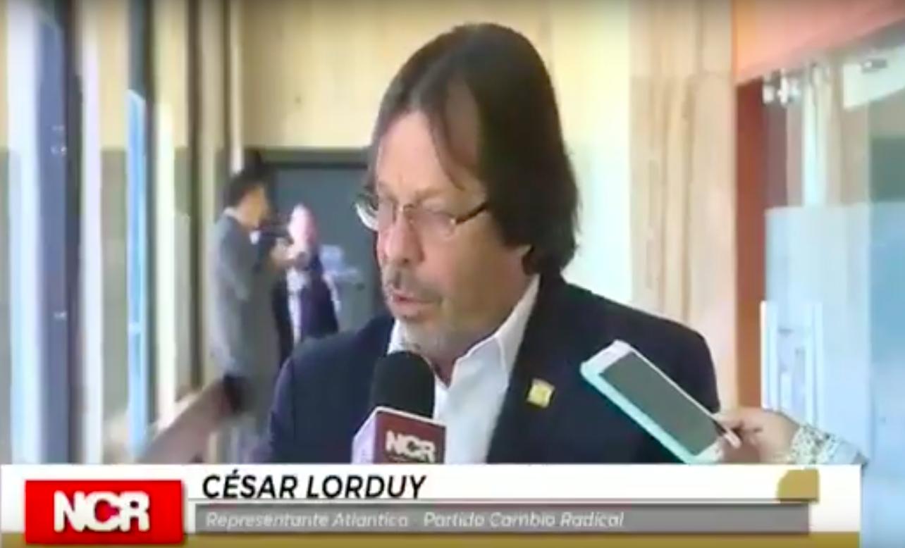 Cesar Lorduy elegido como presidente de la Comisión de Seguimiento a Organismos de Control 2