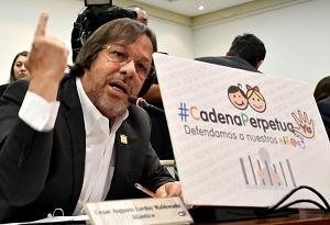 """""""Absurdo aplazar debate sobre cadena perpetua"""": Cesar Lorduy, representante a la Cámara 1"""