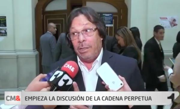 Discusión de cadena perpetua se retoma la próxima semana; Lorduy autor y ponente 3