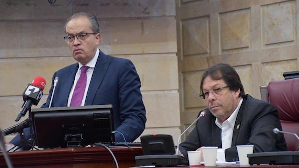 Los planes y programas implementados y desarrollados por la Procuraduría son compartidos por el Procurador en la Comisión de Seguimiento a Organismos de Control que Lorduy preside 1
