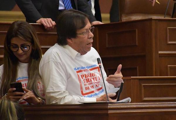 La Cámara cumplió con su labor y aprobó, con amplia mayoría, la prisión perpetua para violadores y asesinos de niños y niñas en segundo debate: Cesar Lorduy 3