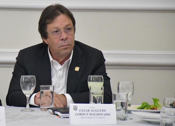 Informe de actividades Nº 38 del Representante Cesar Lorduy correspondiente a la semana del 7 al 11 de octubre 2