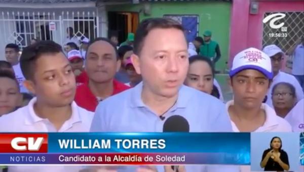 Soledad merece un Cambio Radical; Lorduy comparte resultados de encuesta realizada por Datanálisis que favorece a William Torres 1