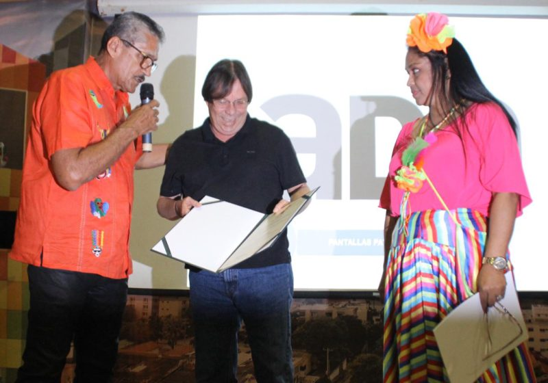 Cesar Lorduy reconocido por salvaguardar el Carnaval 2
