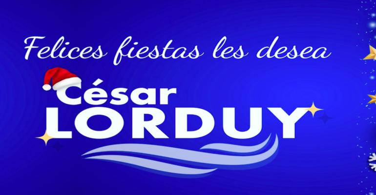 Felices fiestas a todos el Caribe, Atlántico y Barranquilla: Lorduy 2
