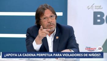 Cesar Lorduy defiende cadena perpetua