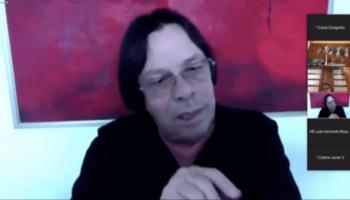 Cesar Lorduy en debate de centros penitenciarios