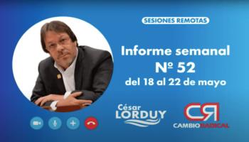Informe 51 de Cesar Lorduy