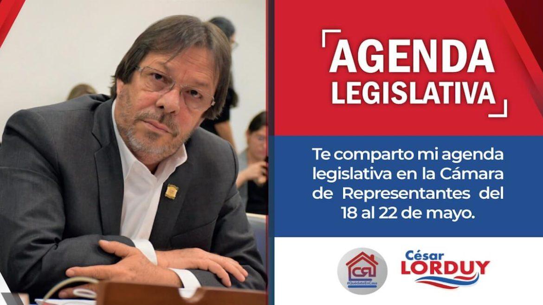Cesar Lorduy agenda legislativa
