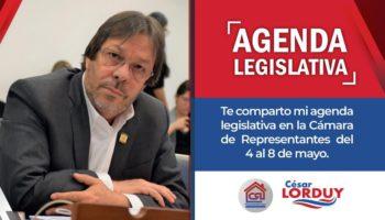 Cesar Lorduy agenda del 4 a 8 de mayo