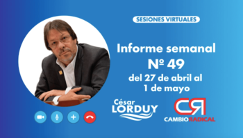 Informe 49 de Cesar Lorduy