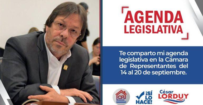 Agenda de Cesar Lorduy
