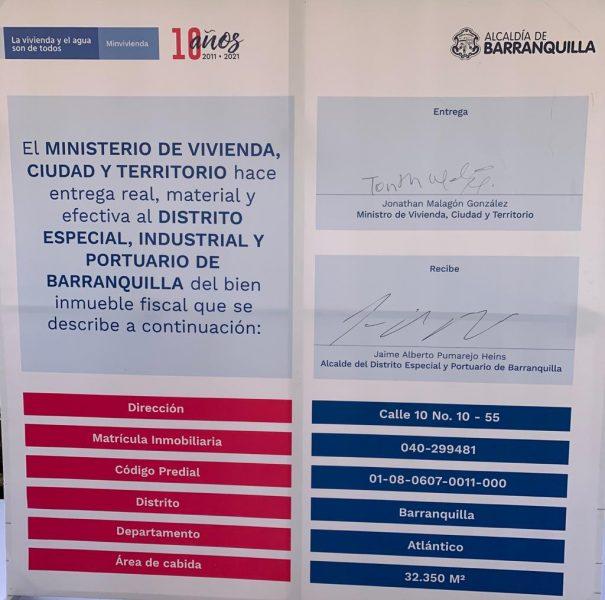 Barranquilla, la ciudad pionera en Colombia en la cesión de predios a título gratuito 5