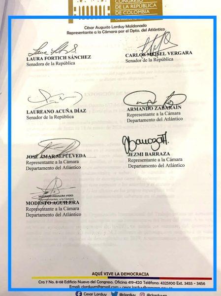 Radicado proyecto de ley que otorga amnistías y alivios por multas de tránsito, propuesta de Jaime Pumarejo llevada al Congreso 5