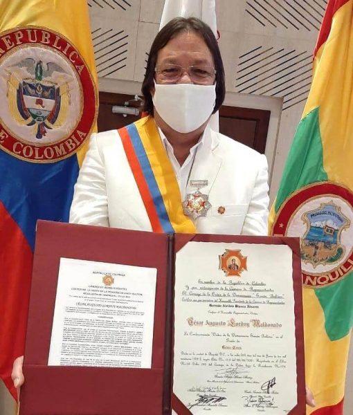 Premiación Cesar Lorduy