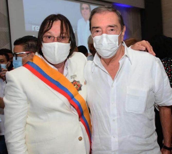 Condecoración, Orden de la Democracia Simón Bolívar, al Representante a la Cámara César Lorduy Maldonado 3