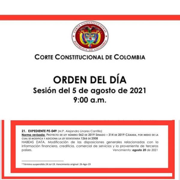 Borrón y Cuenta Nueva: Este jueves la Corte Constitucional podría decidir sobre ese proyecto 2