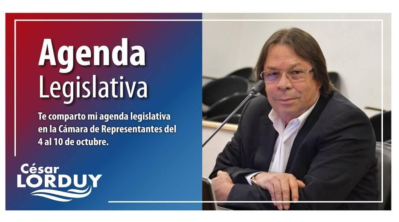 Agenda Cesar Lorduy