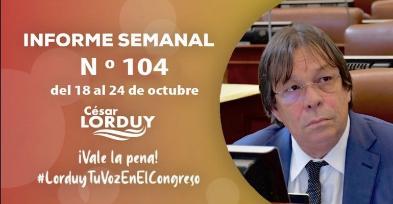 Informe 104 Cesar Lorduy
