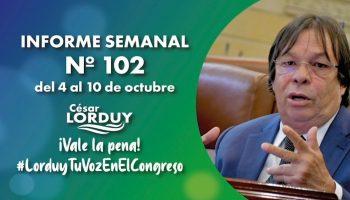 Informe 102 - Cesar Lorduy