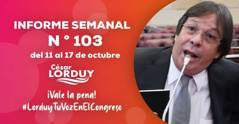 Informe 103 Cesar Lorduy